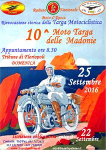 Locandina Moto Targa Florio 2016